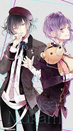 Azusa and Kanato