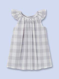 963181f7b8 Albertine Plaid Dress French Baby Clothes