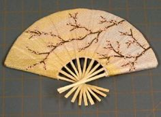 How to Make a Fabric Hand Fan !!