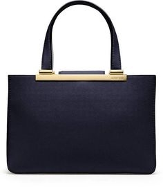 Leather Large Leather Tote - Lyst Michael Kors