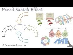 PowerPoint Pencil Sketch Effect : PowerPoint Effect Series - YouTube