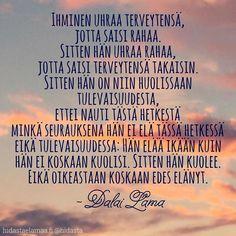 #elämäonnyt #silmätauki by hidasta Story Of My Life, Good Thoughts, So True, New Life, Bujo, Mindfulness, Words, Quotes, Instagram