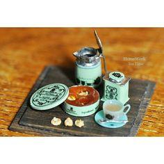 【ヤフオク出品中 】 詳しくはHPをご覧下さい! #homework #miniature #art #tea #tearoom #teatime #cafe #sweets #ミニチュア#ドールハウス #紅茶 #ティールーム #ティータイム #カフェ #スイーツ #はんだ #半田 #はんだ付け #handmade #手のひらの上の世界