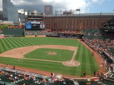 Oriole Park at Camden Yards.