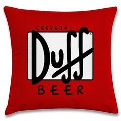 Cerveja Duff (capa para almofada 40cm x 40cm) R$39,00 Frete único pra todo Brasil. Pedidos: contato.moofa@gmail.com