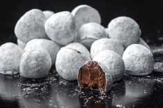 Truffles are ubiquitous on Valentine's Day, but few seduce like these intense little morsels, all sugar-dusted and infused with Schramsberg blanc de noirs sparkling wine. | 15 Chocolate Gifts for Valentine's Day (Photo: Tony Cenicola/The New York Times)