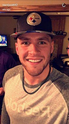 TJ Watt's Snapchat - 4.27.17 - NFL Draft - Off to Pittsburgh - #DreamBigWorkHard #HuntGreatness #JustAKidFromPewaukee