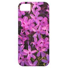 Purple Flowers Phone