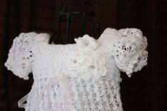 The Ella  Crochet Blessing / Christening by OopsieDaisyDesigns, $120.00