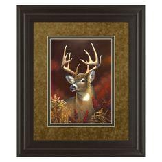 Classy Art Deer Portrait Wall Art - 34W x 40H in. - DM5365