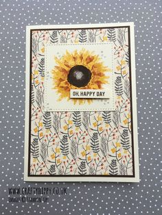 Oh Happy Day Stampin' Up!