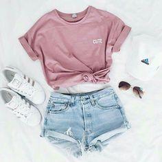 Fashion Mode, Teen Fashion Outfits, Fashion Clothes, Tween Fashion, Fashion Ideas, Fashion Beauty, Ladies Fashion, Style Fashion, Trendy Fashion