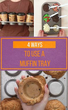 4 Cool Ways To Use Your Muffin Tin