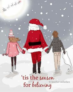 """""""Tis the Season for Believing.- xx - Rose Hill Designs by Heather Stillufsen Christmas Quotes, Christmas Love, Christmas Pictures, Winter Christmas, Merry Christmas, Xmas, Christmas Decor, Christmas Messages, Christmas Scenes"""