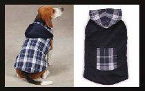 Zack & Zoey Polyester/Cotton Dog Woodland Jacket, X-Large, Navy