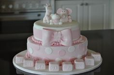 Christening cake By Kyliem80 on CakeCentral.com
