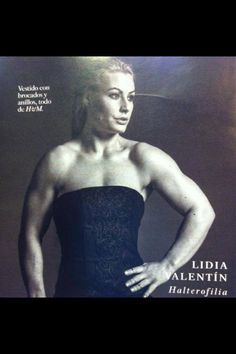 Lidia Valentin - Olympic Weightlifter