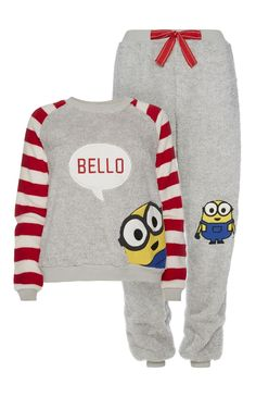 Primark - Minions Bello PJ Set