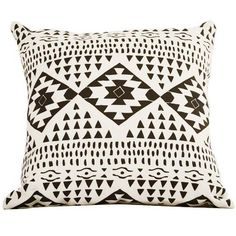 We love Leah Duncan and this Santa Fe throw pillow is a great example of her cool style.    CasaSugar onto Little Details