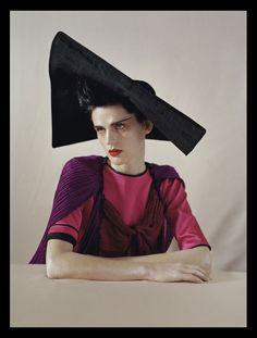 "furples: ""Stella Tennant by Tim Walker for ""Color Blocks"" Vogue Italia May 2011 "" Stella Tennant, Trans Model, Tim Walker Photography, Paolo Roversi, Robert Mapplethorpe, Richard Avedon, Vogue Uk, British Style, Editorial Fashion"