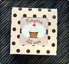 Festa Personalizada - Tema Cupcake