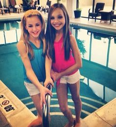 Maddie Ziegler and Chloe Lukasiak got to love dances moms! Every Tuesday!