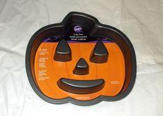Halloween Jack O Lantern Wilton Cake Pan Pumpkin non stick 0 70896 80679 6 new