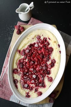 Experimente aus meiner Küche: Beeren-Grieß-Auflauf