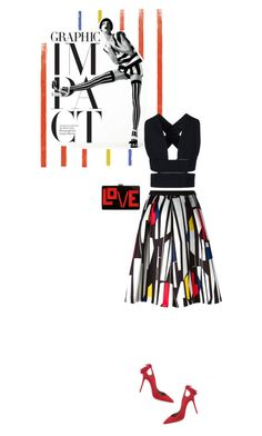 """""""Graphic"""" by sophiek82 ❤ liked on Polyvore"""