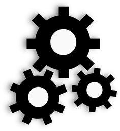 Engrenages, Roue Dentée, Industrielle, L'Industrie