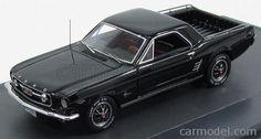 MATRIX SCALE MODELS MX20603-111 Scale 1/43  FORD USA MUSTANG MUSTERO PICK-UP 1966 BLACK