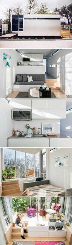 Kasita: a modern and minimal tiny house that can be stacked to form an aprtment