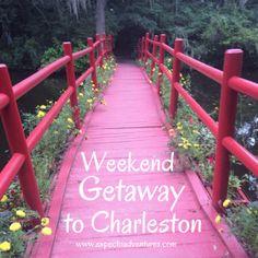 Romantic Weekend Getaway to Charleston, South Carolina - Expecto Adventures Girls Vacation, Girls Getaway, Vacation Spots, Travel Couple, Family Travel, Family Trips, Romantic Weekend Getaways, Travel Light, Romantic Travel