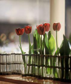 Petit Vase d'Avril et ses tulipes - Tsé & Tsé associées