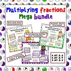 Multiplying Fractions Mega Bundle