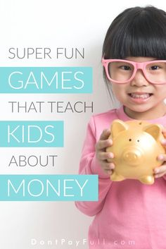 We've hunted down the best games that teach kids about money! Investing in these games is an investment in your children's future! #DontPayFull