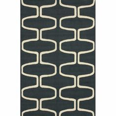 @Overstock - Invoke the feel and warmth of a country home with this stunning woolen hand-hooked rug.  Meticulously made using a petit point stitches construction, make your favorite space feel right at home with this beautiful grey rug.http://www.overstock.com/Home-Garden/Hand-hooked-Alexa-Moroccan-Trellis-Grey-Rug-5-x-8/5777718/product.html?CID=214117 $139.39
