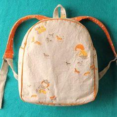 Toddler Backpack Sewing Pattern PDF