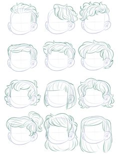 """HAIR ART SAMPLES:""""Sorry that this took a while after the tutorial I made but I hope they come helpful! [DOWNLOAD LINKS] """" 