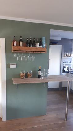 Kitchen Corner, New Kitchen, Pastel Kitchen, Modern Kitchen Design, Wall Colors, Kitchen Interior, Bathroom Medicine Cabinet, Home Kitchens, Woodworking Projects