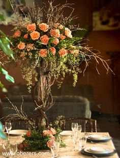 Centerpieces OBERER'S FLOWERS - Serving Dayton, Columbus, Cincinnati, Indianapolis and Louisville