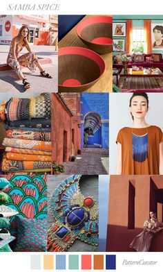 Pattern Curator delivers color, print and pattern trends and inspiration. Fashion Colours, Colorful Fashion, Samba, Peclers Paris, Sara Anderson, Fashion Forecasting, Spring Fashion Trends, Moda Fashion, Color Trends