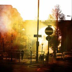 My morning commute - Brighton Viaduct  By Jess Barnes