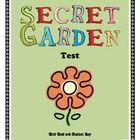 This test was formed to evaluate comprehension after reading the story, Secret Garden, by Frances Hodgson Burnett. It has 26 questions based around...