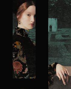 Shadows, Painting, Illustrations, Artist, Women, Fashion, Moda, Darkness, Fashion Styles