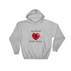 My Heart Beats Dance Hooded Sweatshirt