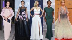 Jessica Biel, Kerry Washington, Lea Seydoux, Lupita Nyong'o, & Rita Ora.