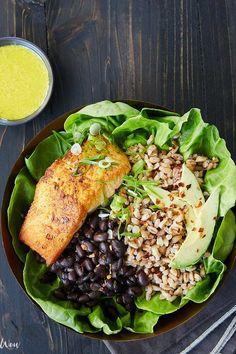 12 Healing Bowl Recipes That Are Like a Warm Hug #purewow #lunch #healthy #dinner #vegan #vegetarian #food #wellness #recipe
