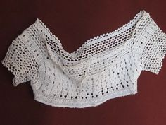 Antique Crochet Bodice