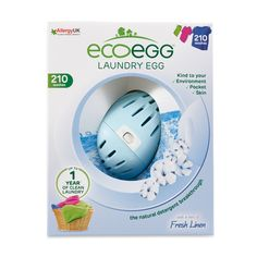 The Laundry Egg is a complete replacement to regular detergent. Kind to sensitive skin, the environment and pocket. The revolutionary new way to do Laundry!